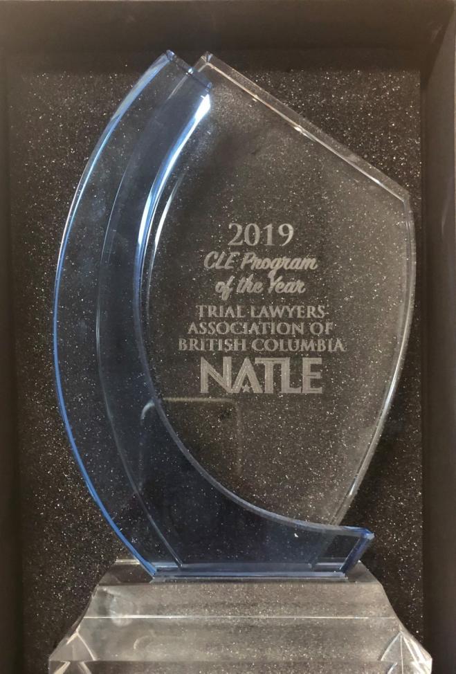 NATLE award_2019